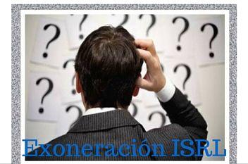 Exoneración ISLR cuales son algunos de sus efectos