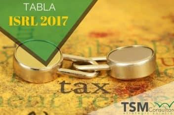 TARIFA ISLR 2017